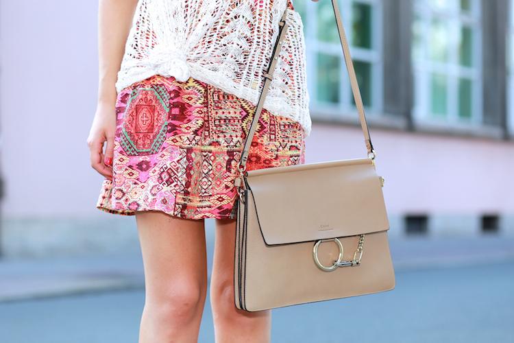 Pattern Dress Chloe Faye Outfit