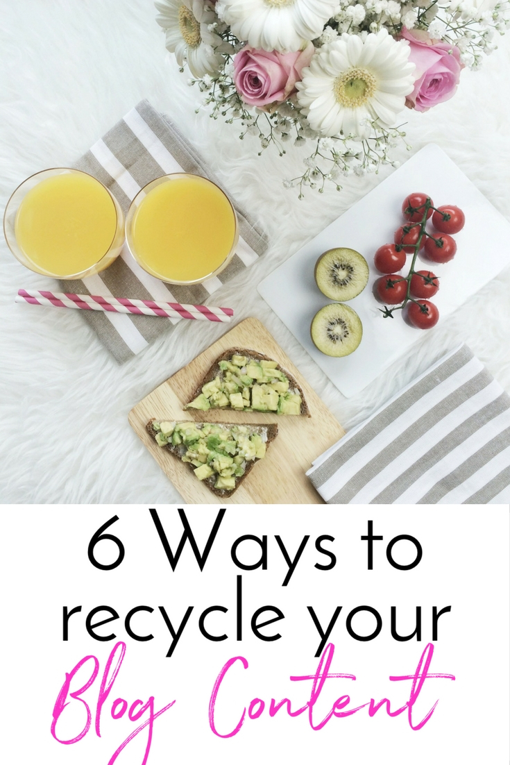 Ways to recycle blog content Want Get Repeat