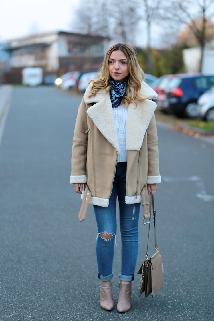 The Zara Shearling Jacket Want Get Repeat
