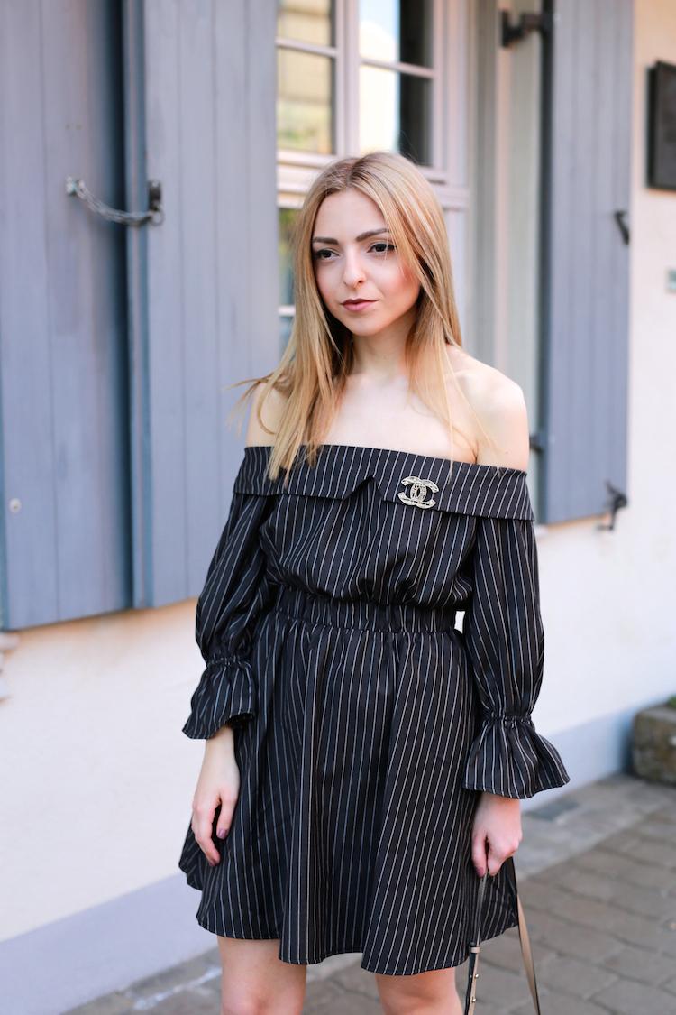 f4b83a2d2d0d Want Get Repeat Blog Off Shoulder Dress Outfit ...