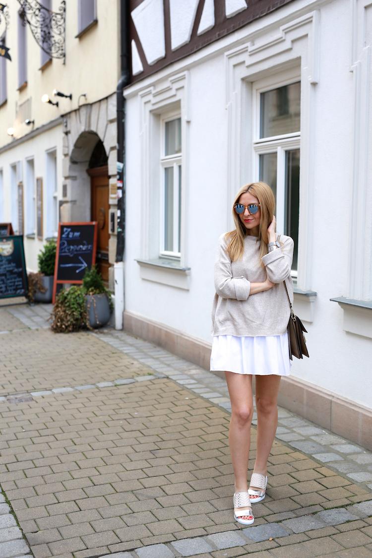 Miista Flats Layering Outfit