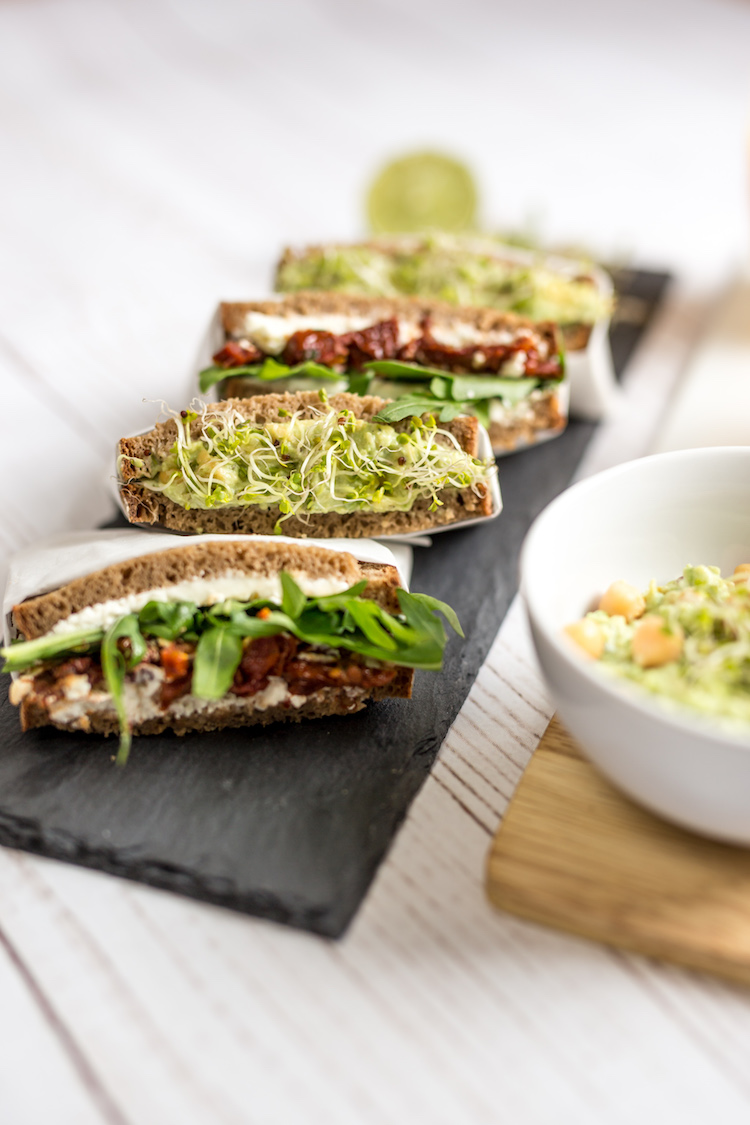 Want Get Repeat - On-the-go Lunch Idea Sandwiches