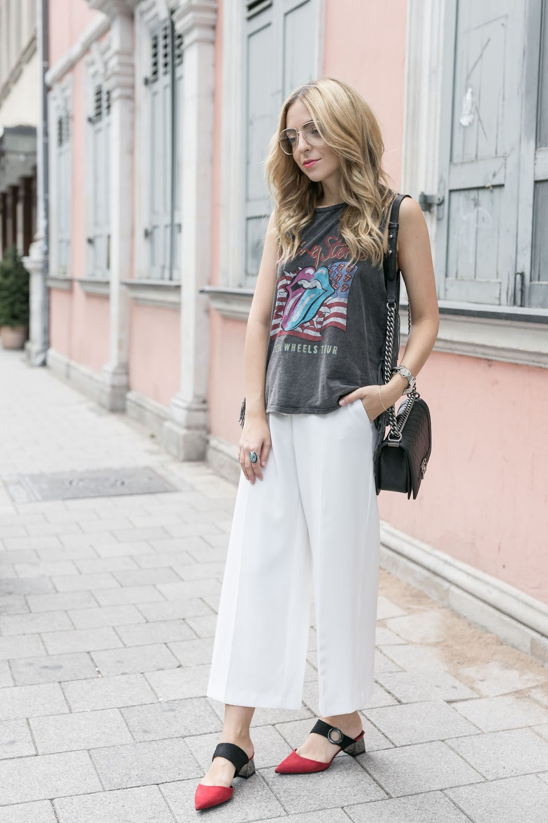 Want Get Repeat Blog Band Shirt Outfit