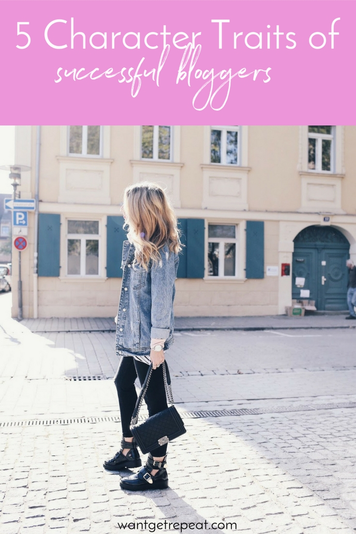 5 Character Traits of Successful Bloggers - Blogger Tips - Motivation
