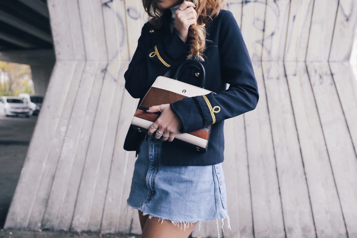 Military Blazer Velvet Boots Outfit Want Get Repeat Blog
