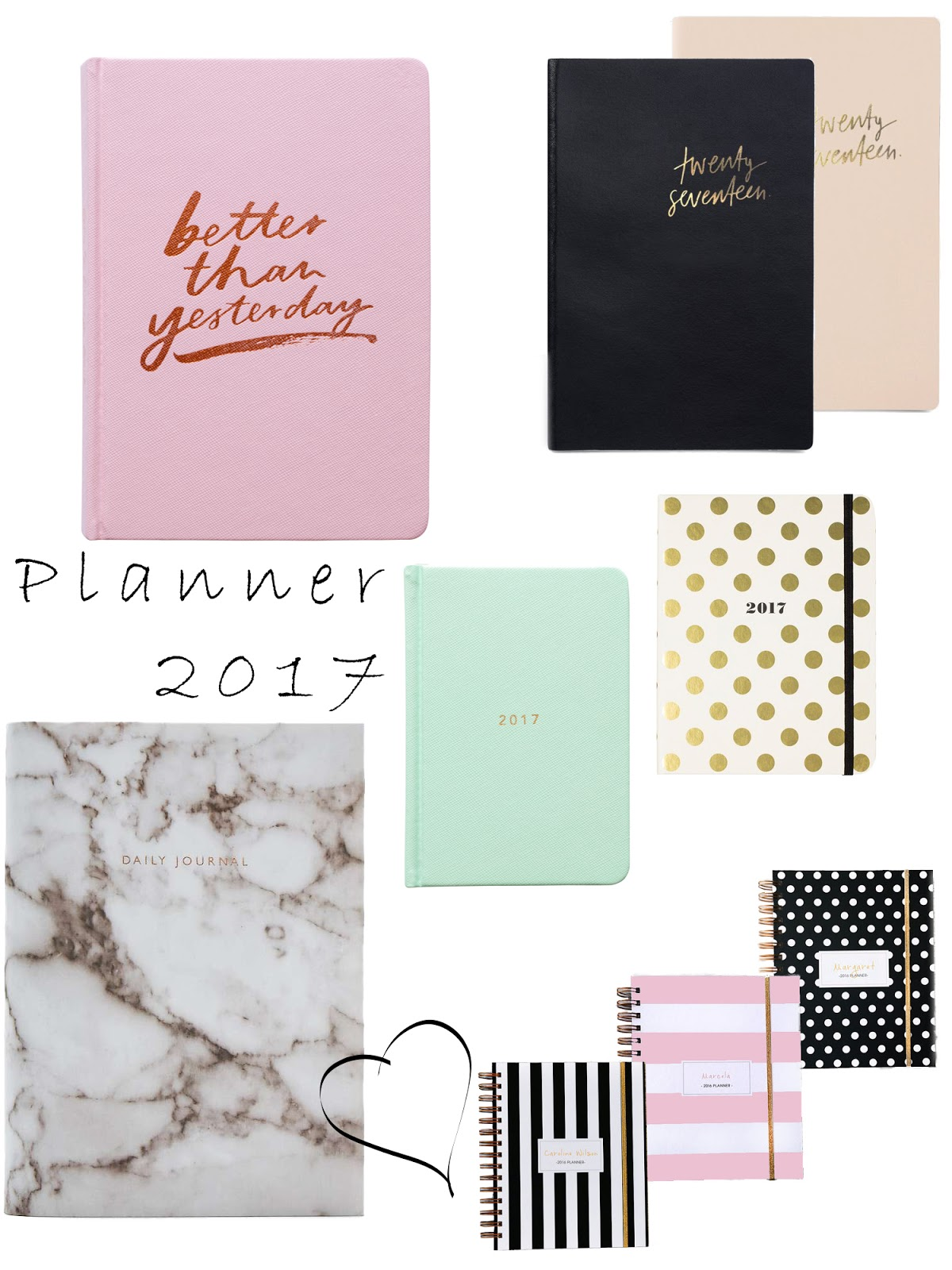 Weekly Planner 2017 Blogger