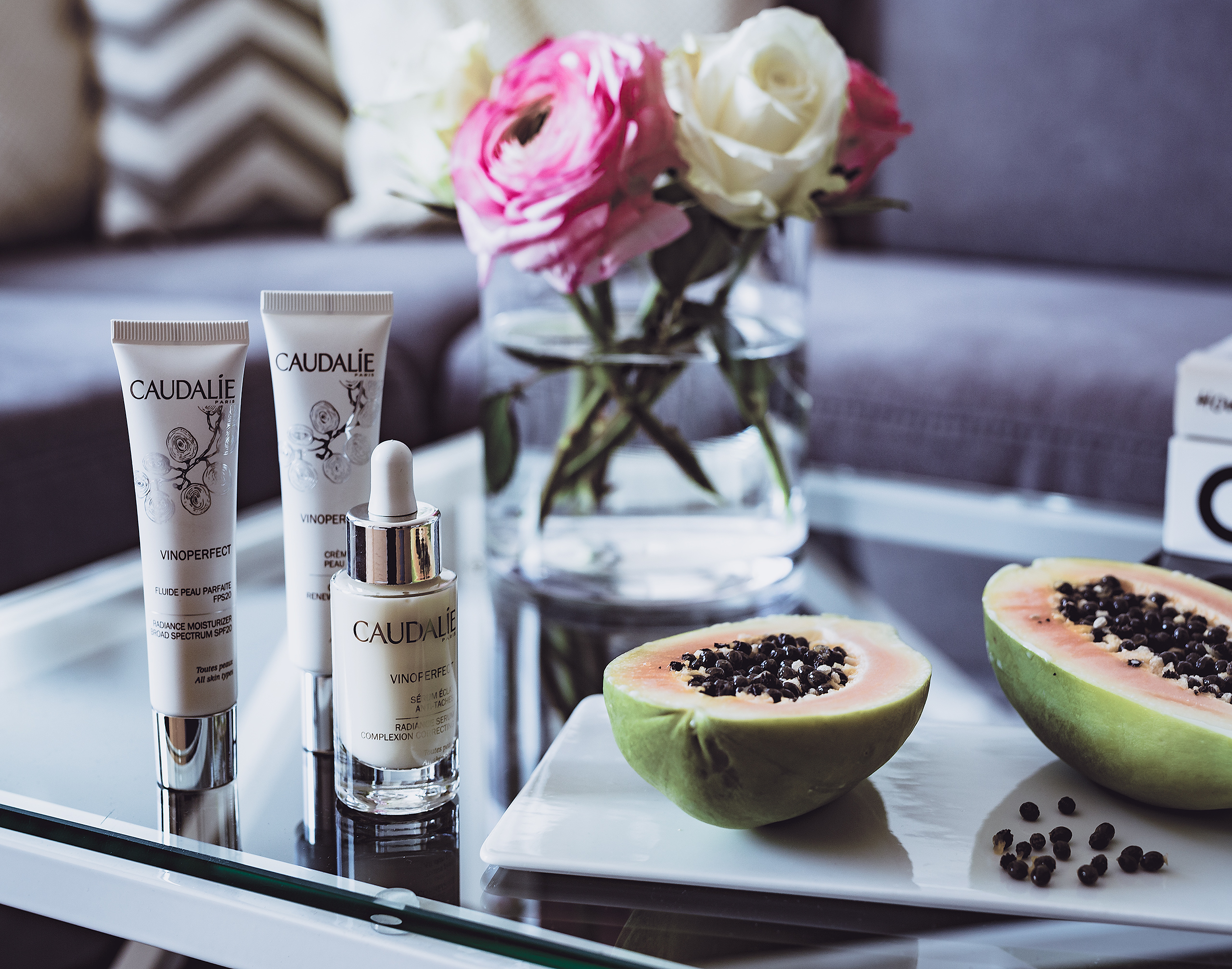 Caudalie Vinoperfect Giveaway Want Get Repeat Blog