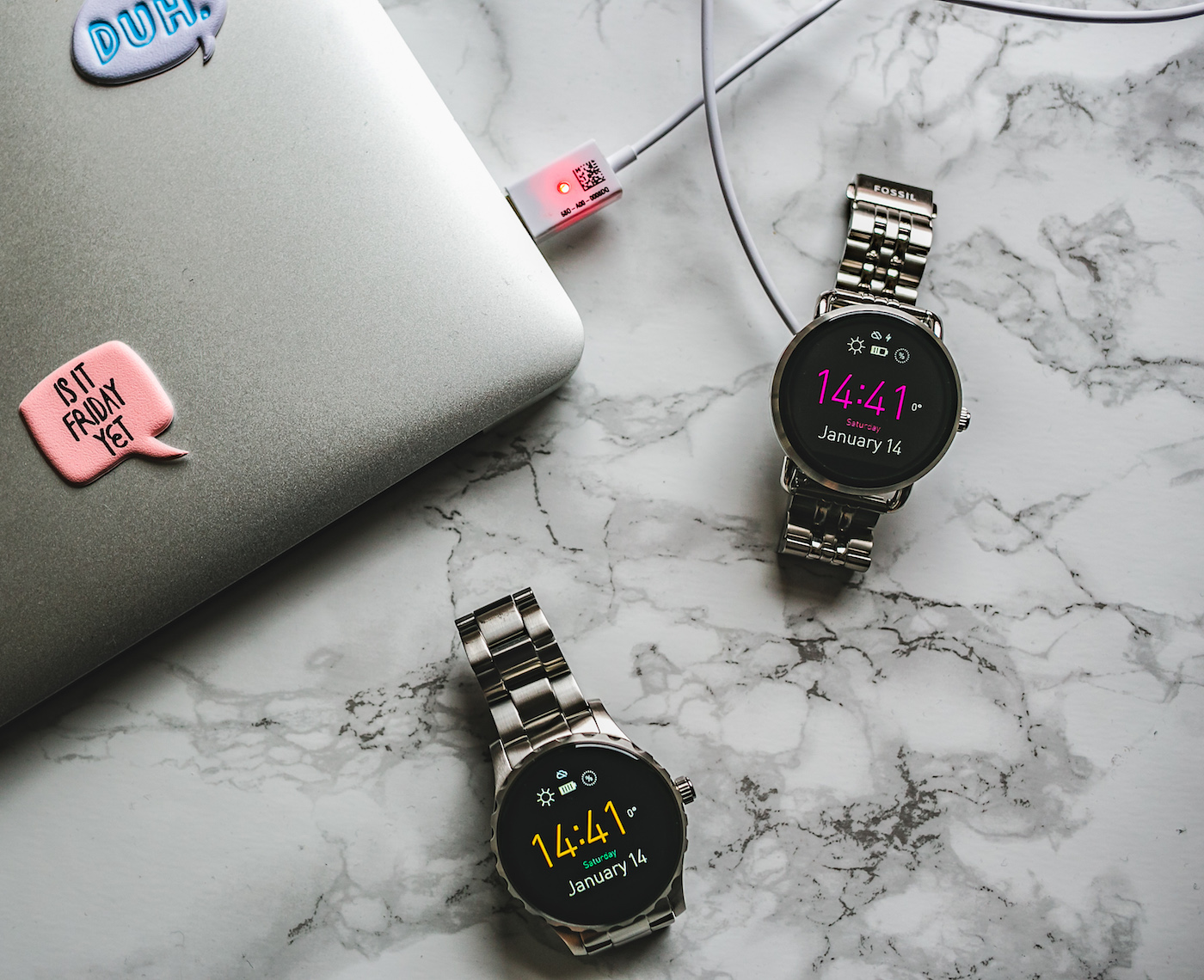 Want Get Repeat Blog One day in Bangkok w/ Fossil Q Wander