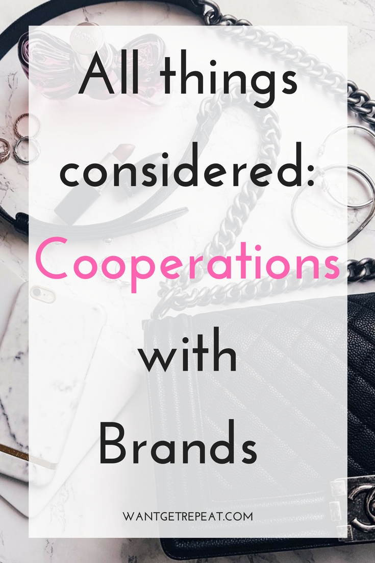 Blogger Brand Cooperations Collaborations Sponsored Posts