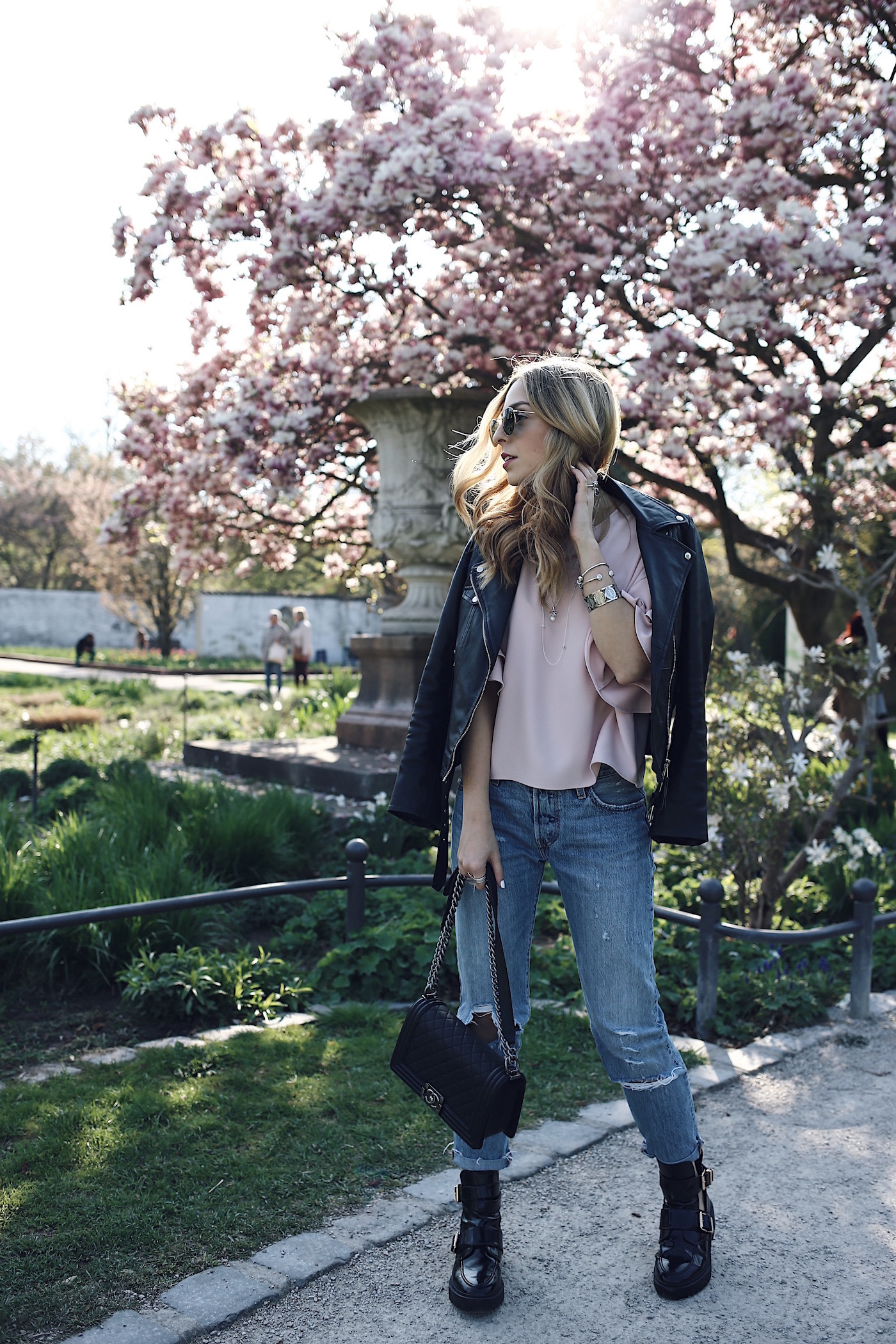 Fashion Blogger Clichés Cherry Blossom Want Get Repeat