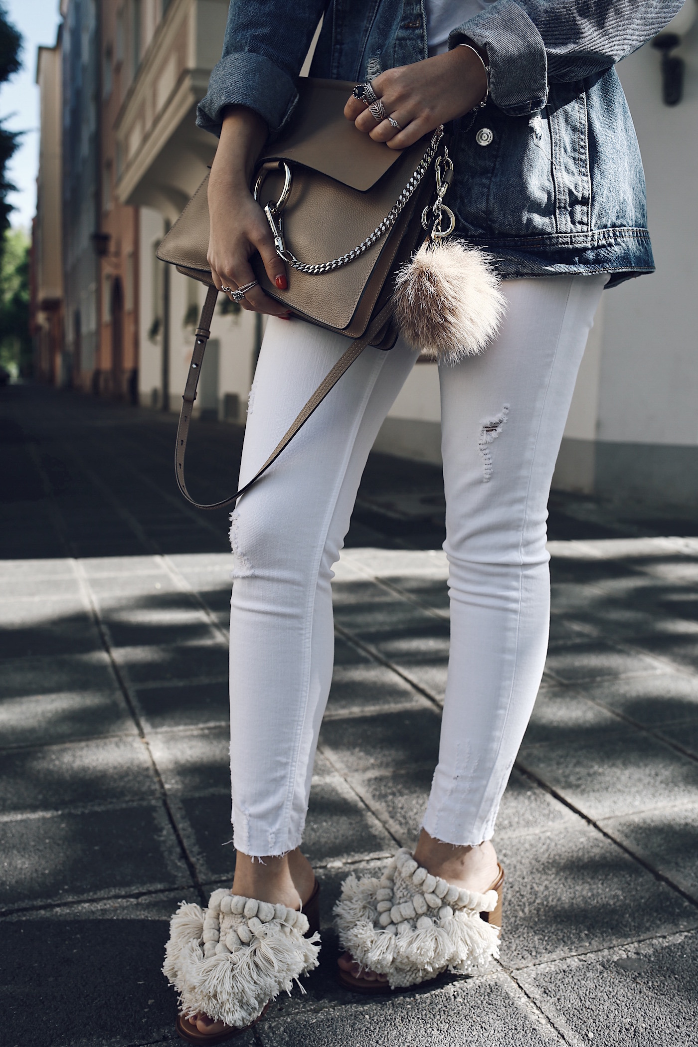 Denim Jacket Outfit for Summer 2017   Want Get Repeat Fashion Blog from Nuremberg Erlangen Germany