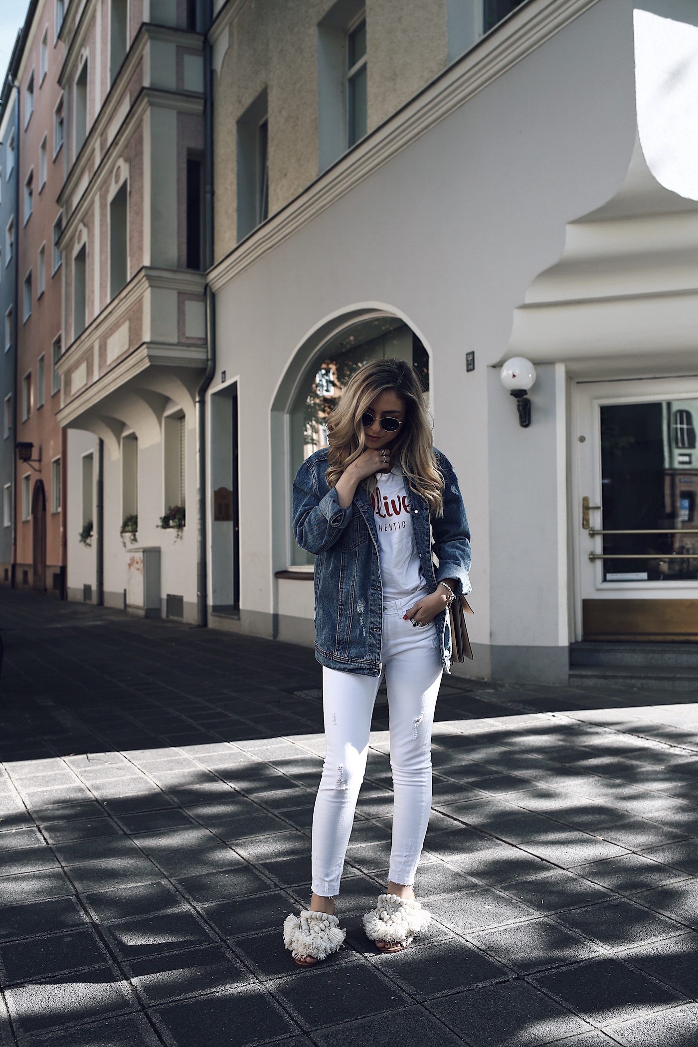 Denim Jacket Outfit for Summer 2017 | Want Get Repeat Fashion Blog from Nuremberg Erlangen Germany