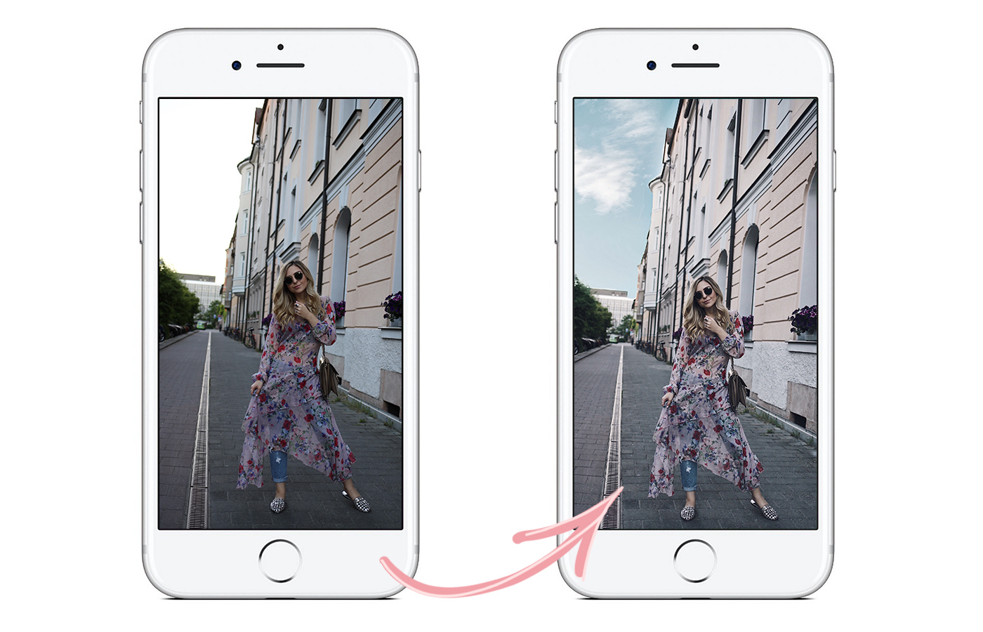 How to Sky Photo Editing for Instagram Tutorial | Want Get Repeat Blog