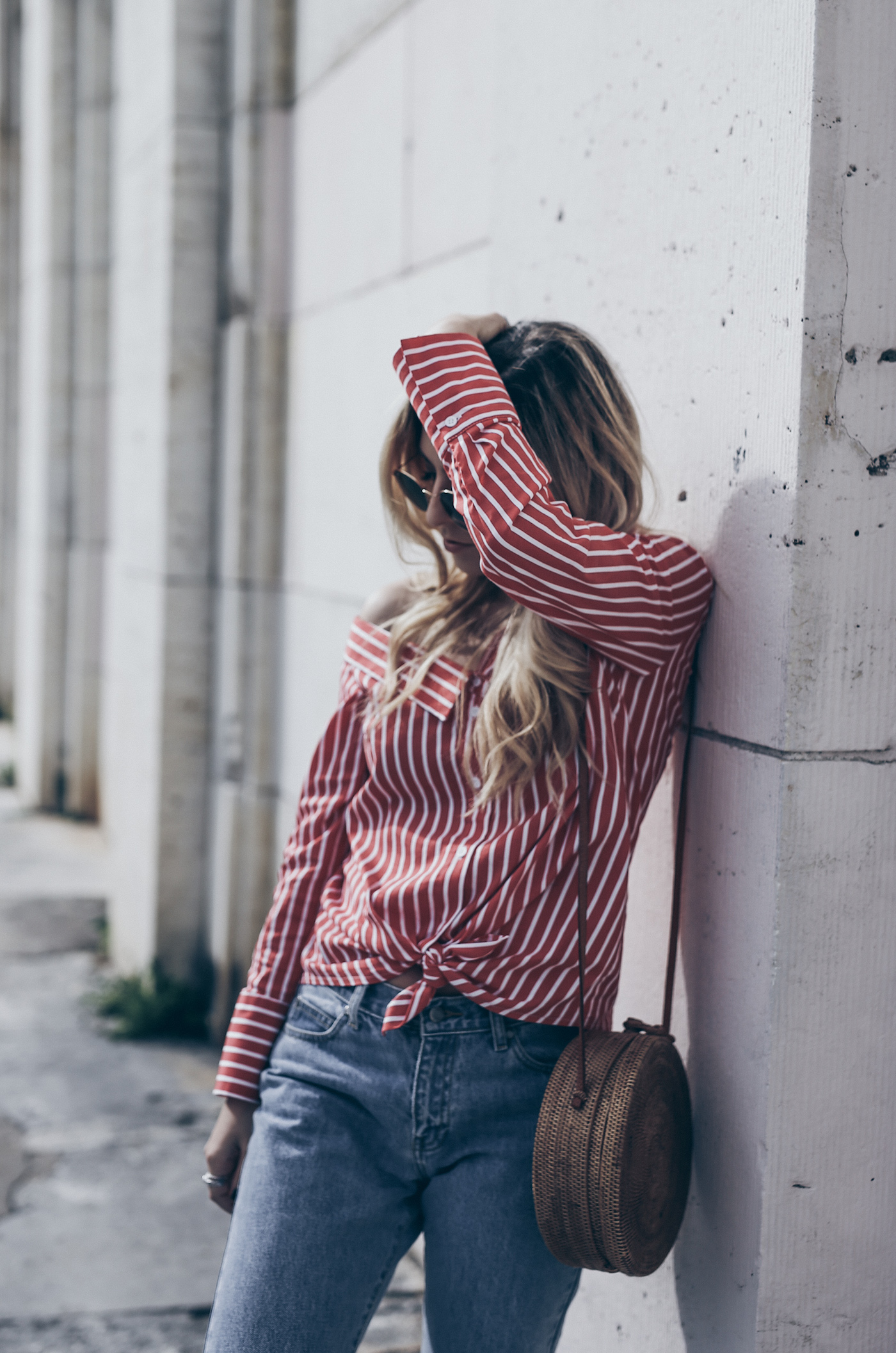 Summer Shirts with a Twist Street Style Outfit | Want Get Repeat Fashion Blog Mode Blog Nürnberg Erlangen