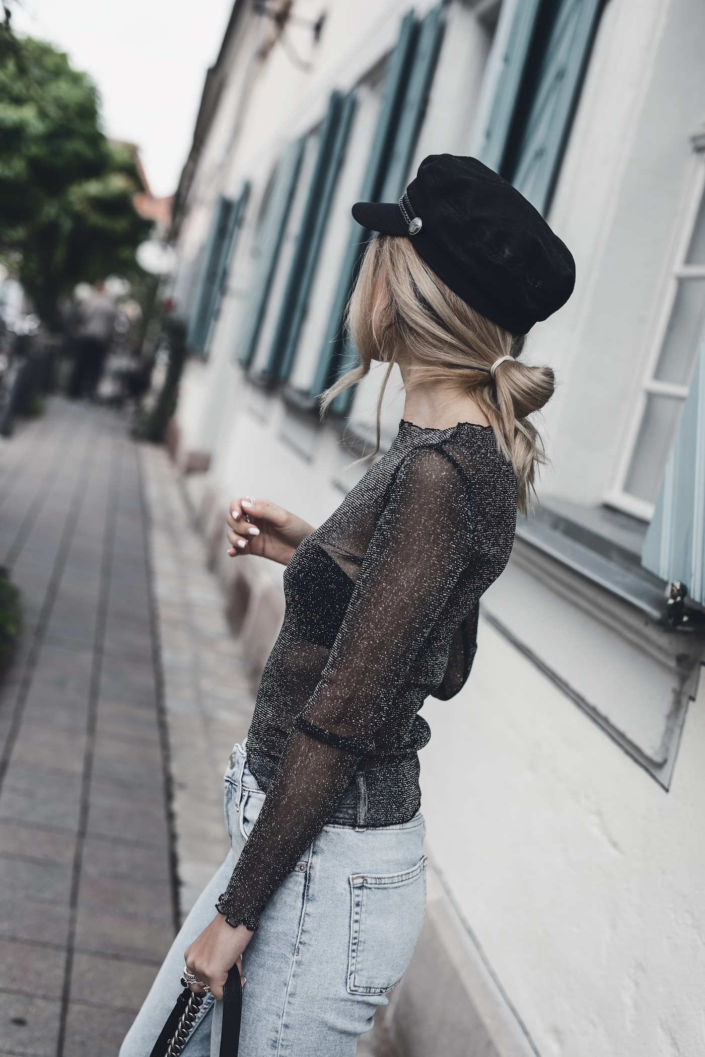 Baker Boy Hat Trend 2017 Fall Autumn Outfit Ideas | Want Get Repeat Fashion Blog Mode Blog Erlangen Nürnberg Bayern