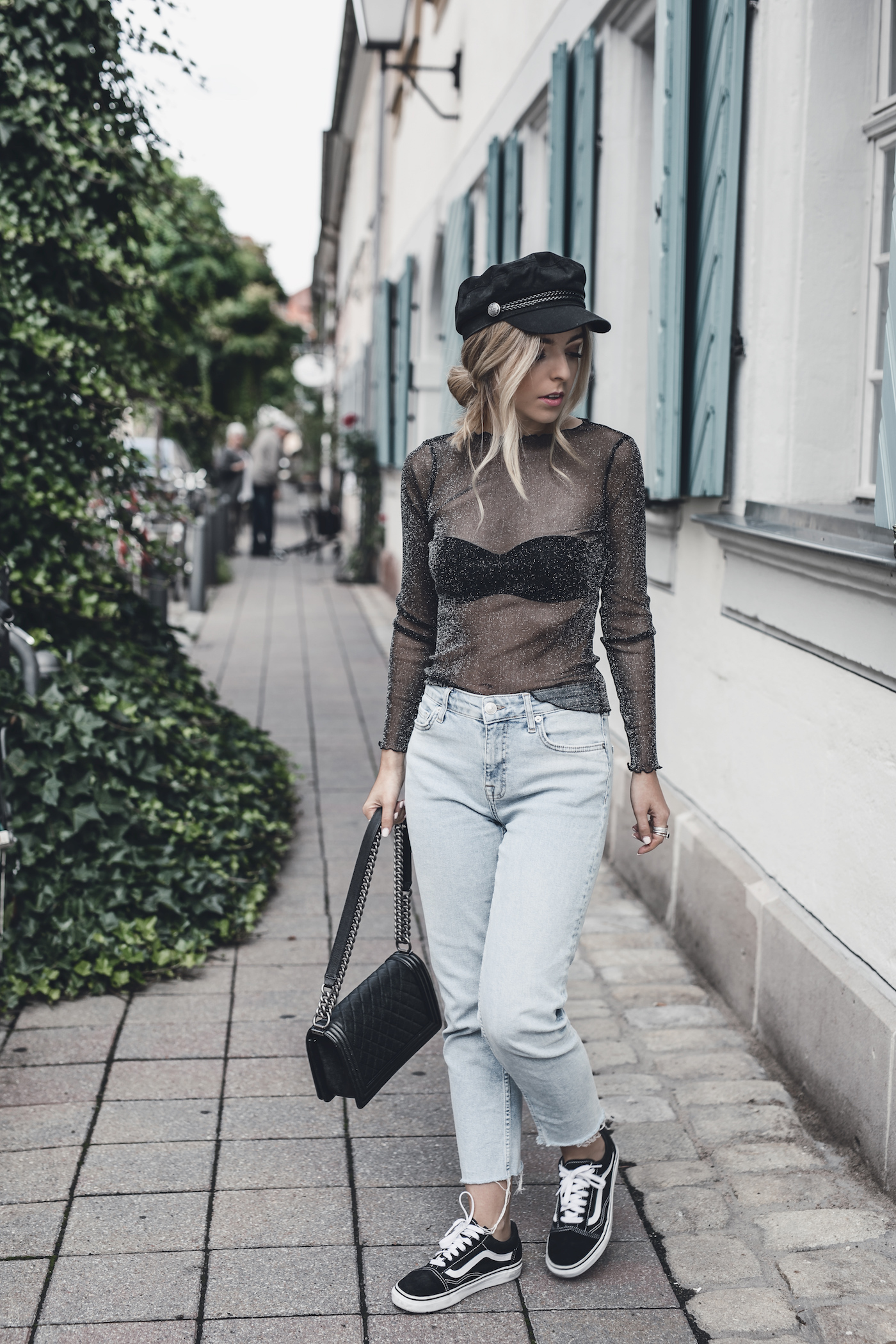 Baker Boy Hat Trend 2017 Fall Autumn Outfit Ideas | Want Get Repeat Fashion Blog Mode Blog Erlangen Nürnberg Bayern