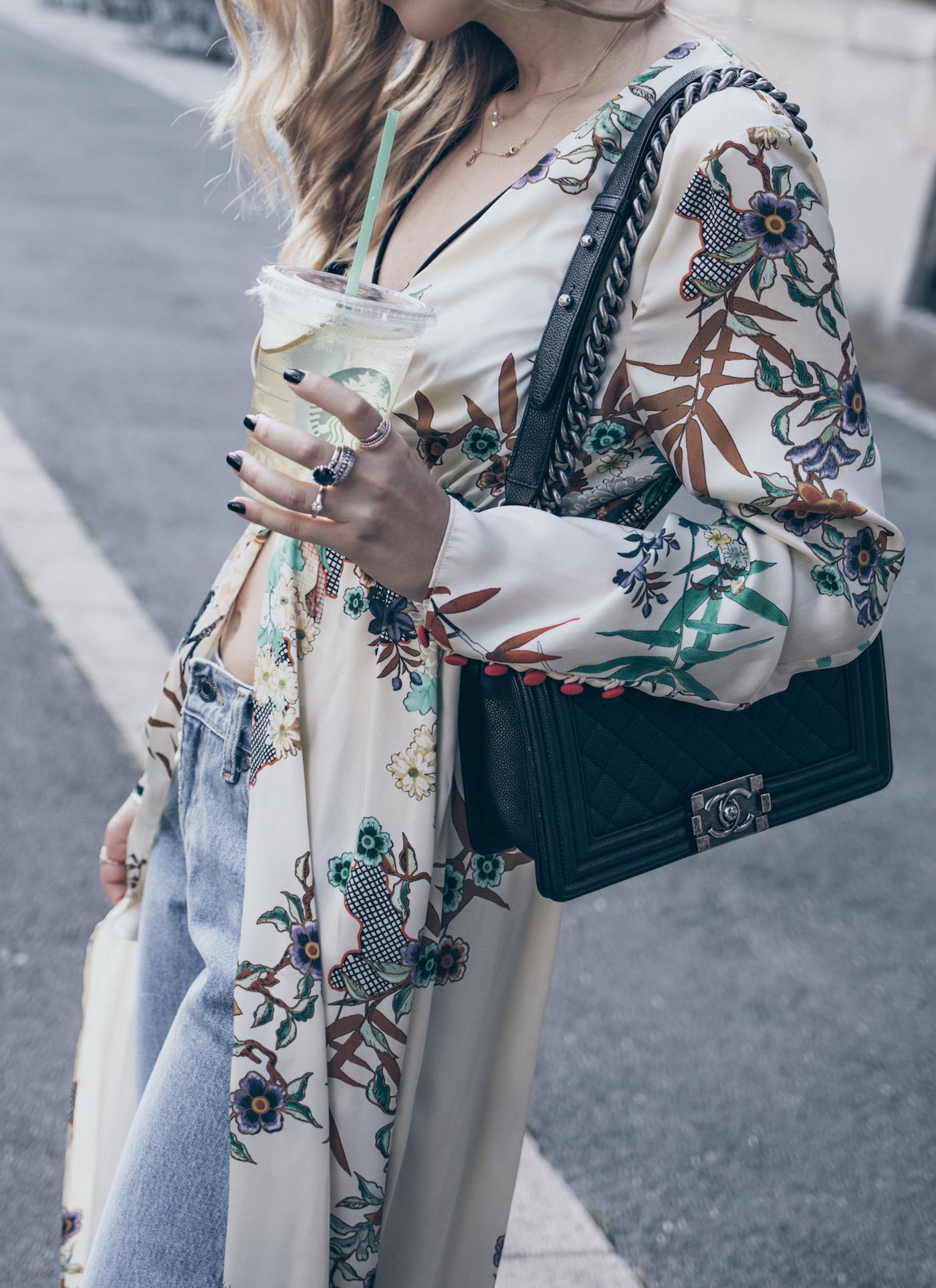 Fashion Blogger Q&A Blog FAQ Zara Kimono Street Style Summer 2017 Want Get Repeat Mode Blog Erlangen Nürnberg