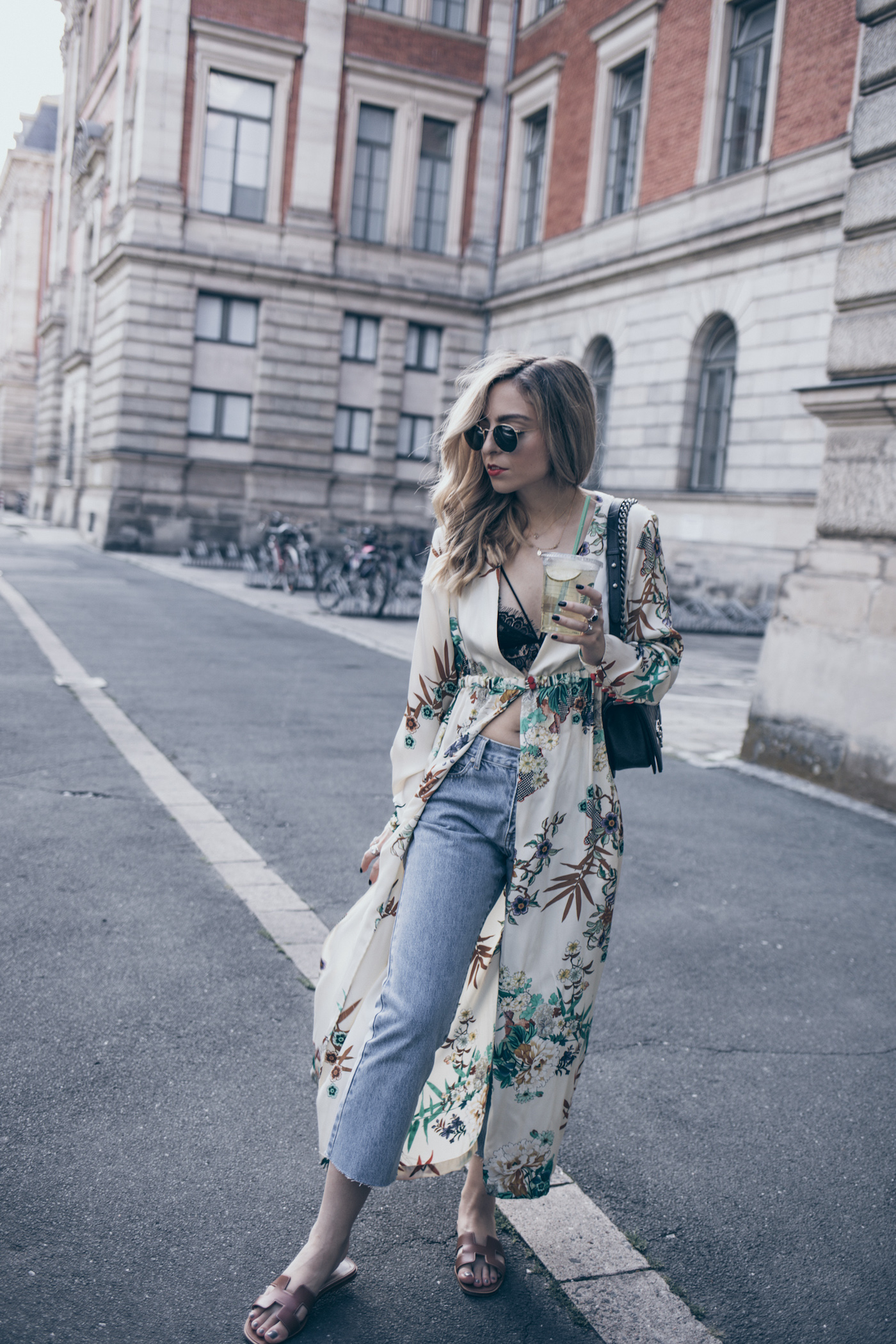 4ff0ca627 Fashion Blogger Q A Blog FAQ Zara Kimono Street Style Summer 2017 Want Get  Repeat Mode Blog ...