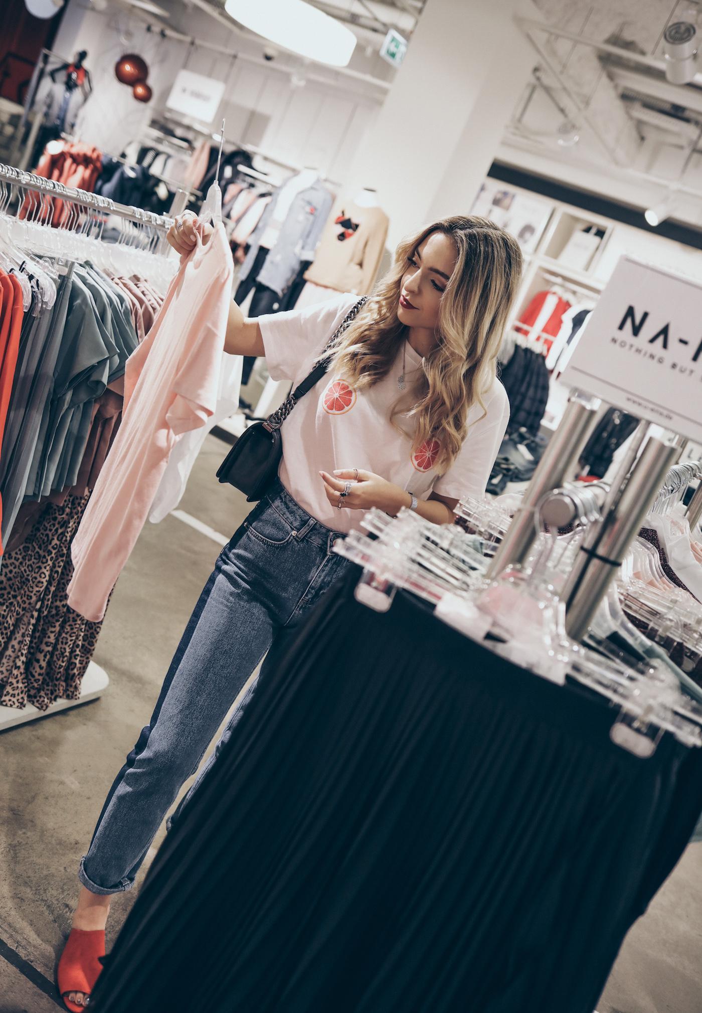 U-Eins Fashion Store Nürnberg NA-KD Fashion Launch | Want Get Repeat Fashion Blog Erlangen Modeblog