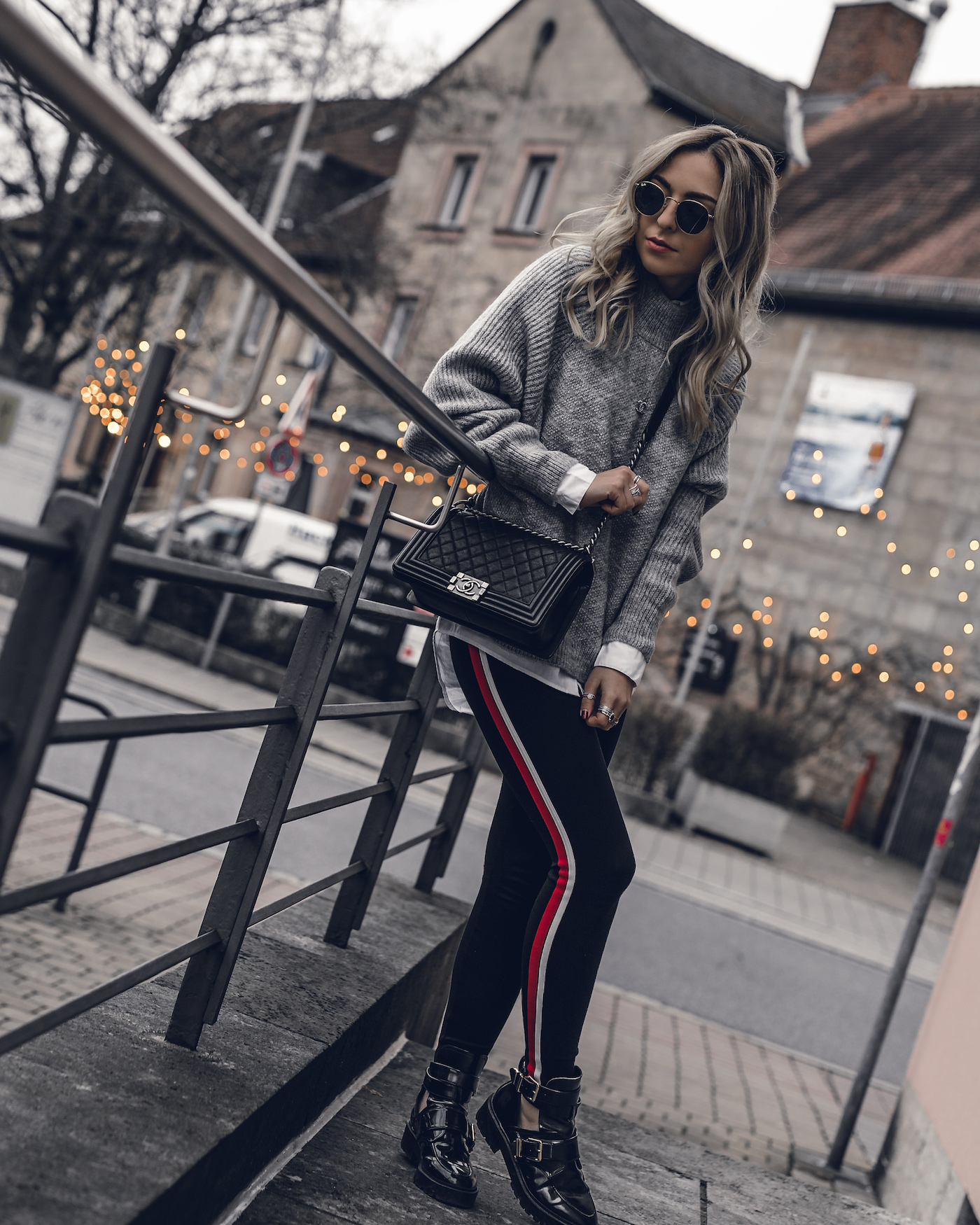 Comfy winter outfits casual leggings cozy | seen on Want Get Repeat