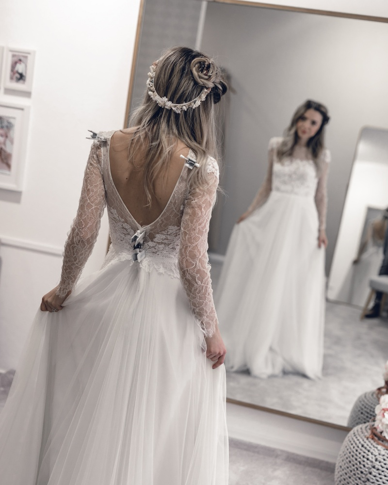 La Donna Regensburg Vintage Boho Hochzeitskleid Brautkleid - Wedding Blog Want Get Repeat