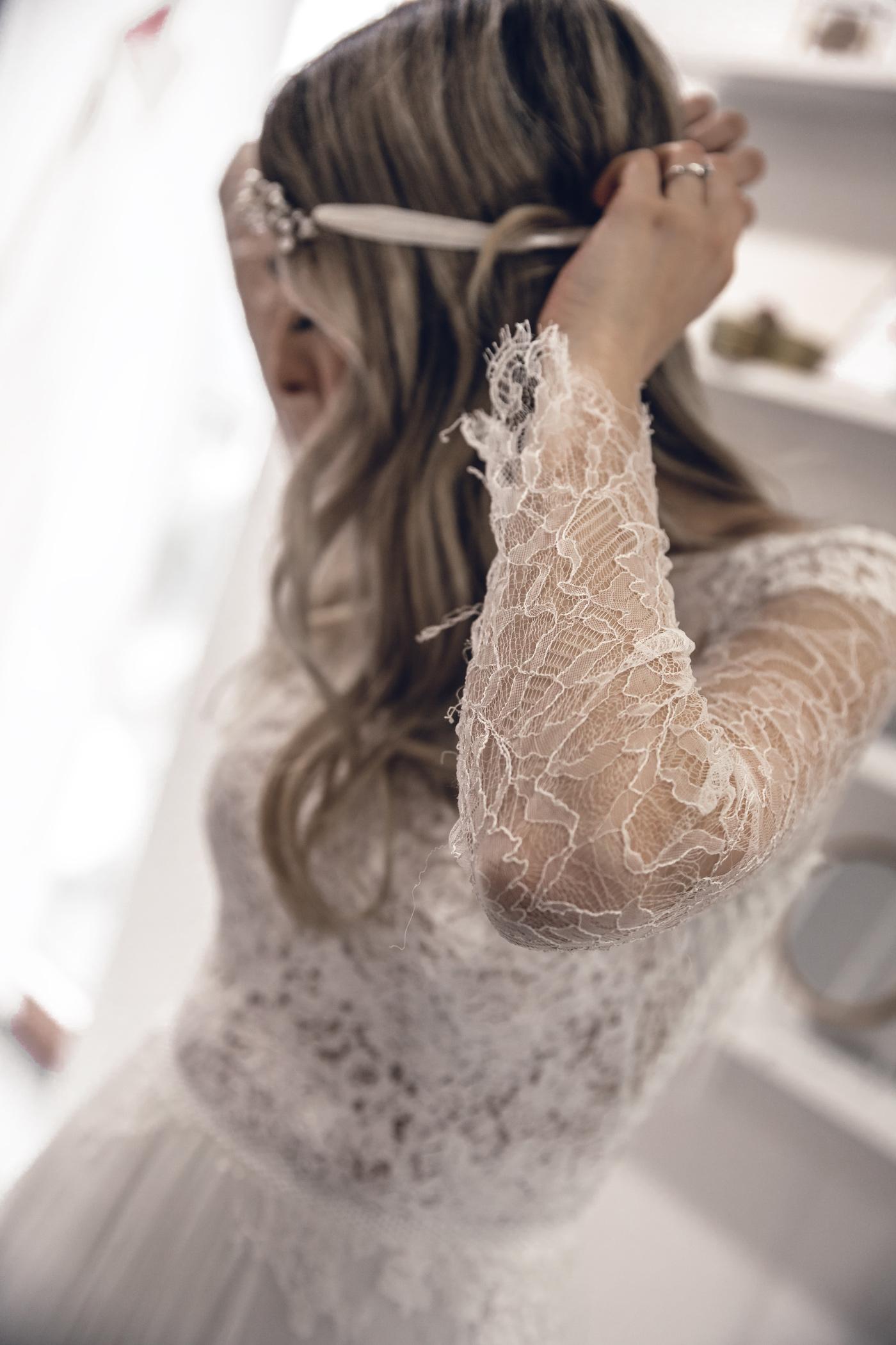 La Donna Schierling Vintage Boho Brautkleid Hochzeitskleid Wedding