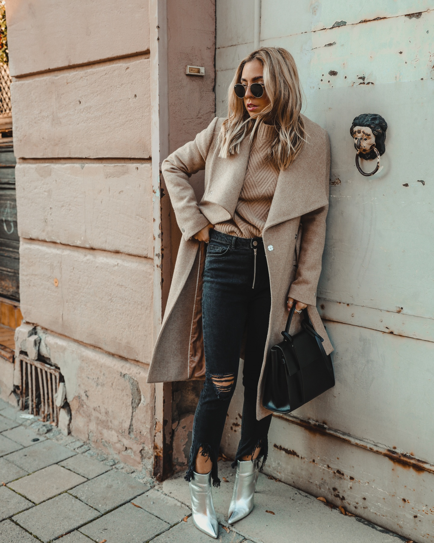 20 Ways to style silver metallic boots   Want Get Repeat